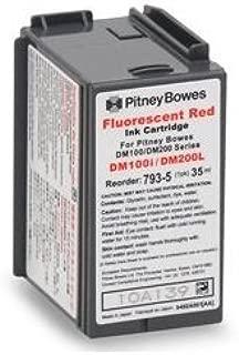 Original Pitney Bowes DM100™i and DM200™ 793-5 Postage Meter Red Ink