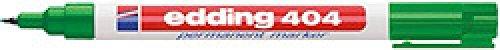 Marcador permanente Edding 404 Punta Redonda 0,75 mm verde (