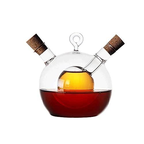 Spice opslag Creatieve anti-lek olie potglas kruiderij fles cruet flessen dubbele pourer spuiten stoppers voor koken…