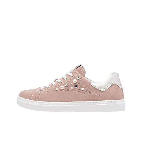 Nero Giardini P907573D Sneakers Donna in Pelle E Camoscio - Peonia 36 EU