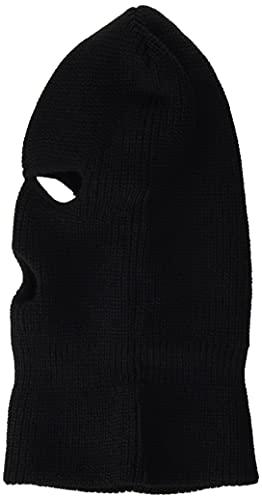Mil-Tec - Pasamontañas Balaclava acrílico, 3 Orificios, Color Negro, para Hombre