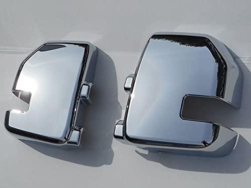 BRIGHTT-QA433506 Chrome ABS plastic Mirror Cover 2Pc Fits Ford F-150 F-250 F-350