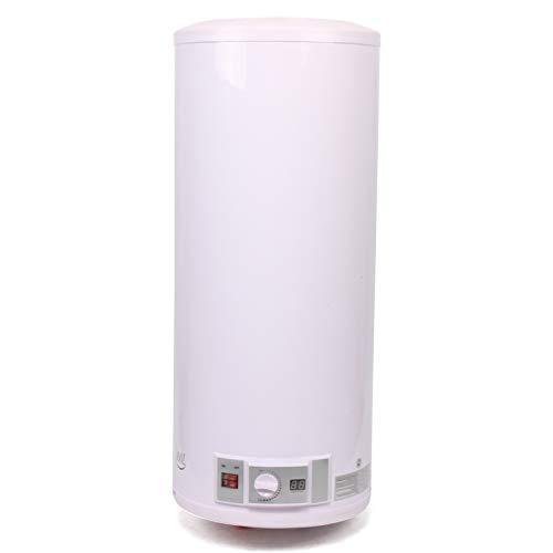 100L Calentador De Agua Eléctrico Con Pantalla Digital, Acumulador De Agua Caliente...