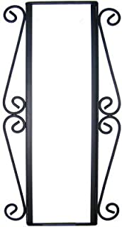 Fine Crafts Imports Wrought Iron Vertical House Number Frame Desert 3