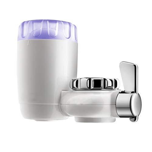 Scicalife Grifo Purificador de Agua Grifo Filtro de Agua Reemplazo Fregadero Dispositivo Limpiador de Agua Reduce El de Filtración de Grifo de Cloro para El Hogar