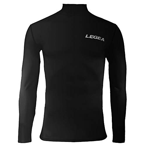 Legea Body 6 Dynamic Maillot de corps manches longues col montant Homme Noir FR : M (Taille Fabricant : M)