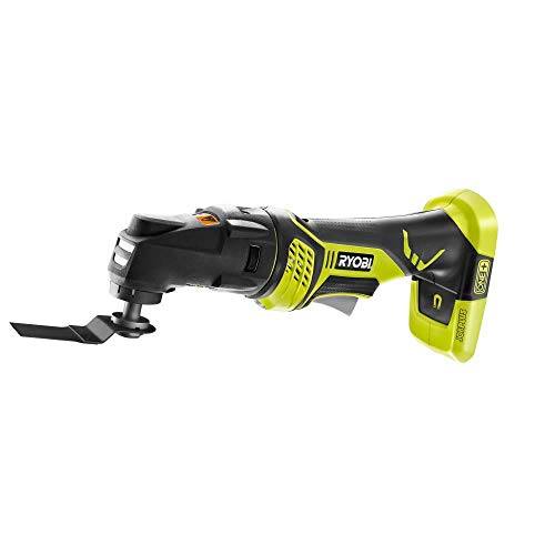 Ryobi P340 One+ 18-Volt Lithium Ion JobPlus Cordless Base with Multi-Tool Attachment (Tool-Only) (Non-Retail Packaging)