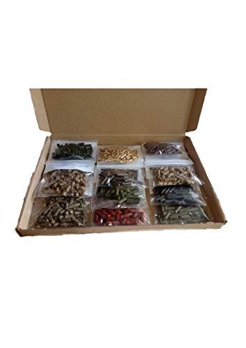 11x10g Premium Futterstick probier Paket für Garnelen Krebse und andere Wirbellose