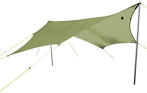 Wechsel Tents Wing M - Zeltplane Camping Zeltdach Wetterschutz für Zelt Hängematte, Zero-G Line, Grün