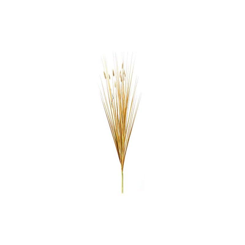 """silk flower arrangements melrose 35"""" brown foxtail and grass bush artificial christmas spray"""