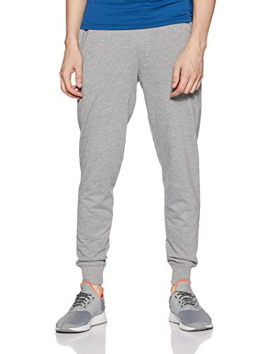 Fila Men's Track Pants (12006957_Grey MRL_XL)