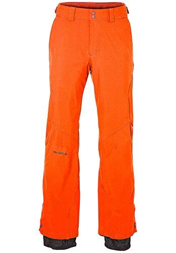 O'Neill Herren Snowboard Hose Hammer Slim Pants, Bright orange, XXL