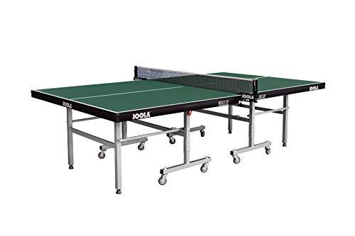 JOOLA World Cup-Indoor Tischtennisplatte, Sport per Il Tempo Libero – Telaio Pieghevole Veloce da Montare. Unisex-Adulto, Verde, 22 MM Plattenstärke
