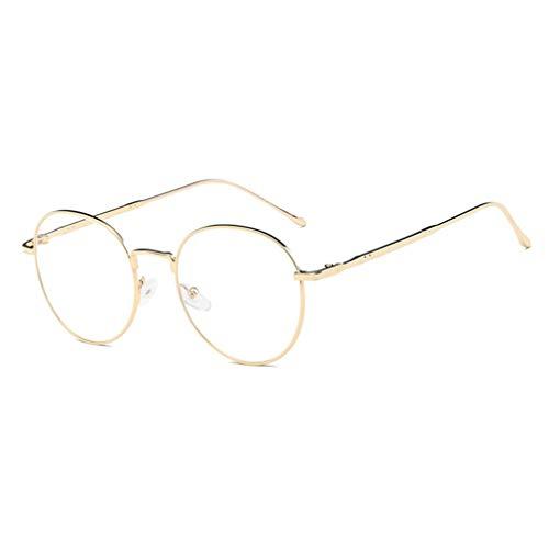 Occhiali Da Vista Tondi In Metallo Unisex In Stile Retrò,Per Occhiali Da Vista Alla Moda