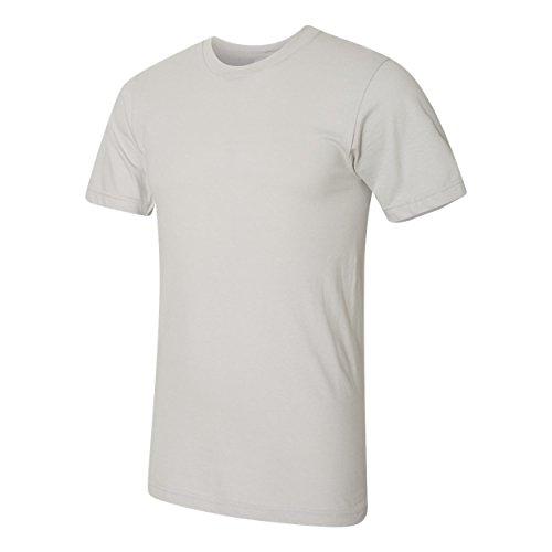 American Apparel Herren Jersey-T-Shirt (L) (Silber)