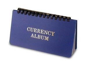 Whitman Currency Album Large – Banknote Wallet – By Harris by Whitman Coins