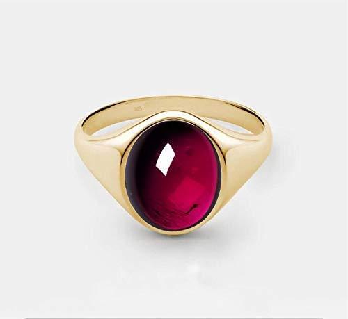 Mens Ruby Stone Ring,Sterling Silver Men Ring,Stone Men Ring,Red Zirconia Men Ring,Garnet Men Ring,Red Ruby Men Ring,Silver Mens Ring