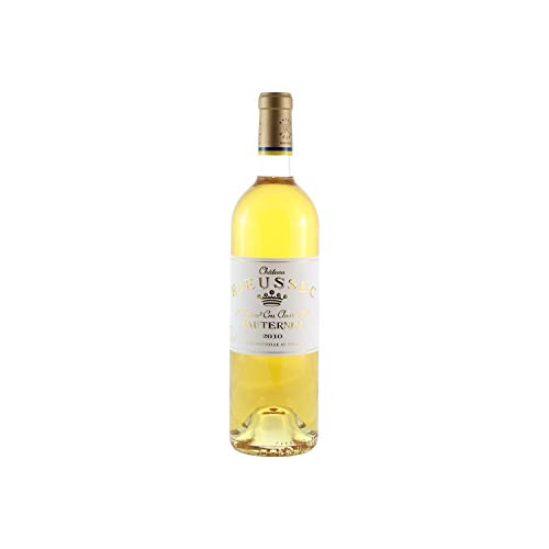 Château Rieussec Weißwein 2010 - g.U. Sauternes süßer - Bordeaux Frankreich - Rebsorte Sémillon, Sauvignon Blanc, Muscadelle - 75cl - 18,5/20 Jancis Robinson