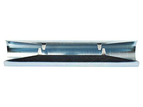 Rollmayer Zubehör für Gardinenstange/Vorhangstange Ø16/19mm / 1-läufig oder 2-läufig (Verbindungsstück - Ø16mm Wandbefestigung), Teile im 5 Farben!
