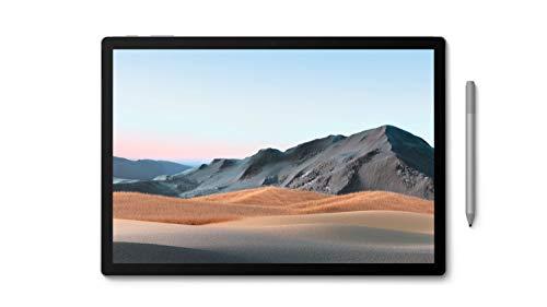 Microsoft Surface Book 3, 15 Zoll 2-in-1 Laptop (Intel Core i7, 32GB RAM, 512GB SSD, Win 10 Home) + Surface Pen Platin Grau