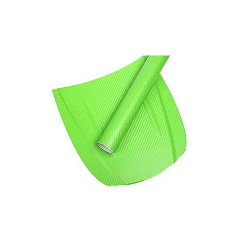 Weilifang 3D-Carbon-Faser-Auto-Film-Film-Carbonfaser Kleber Auto-Verpackungs-Aufkleber-Blatt-Rolle DIY Abziehbild-Dekor Hochglanz Wasserdicht