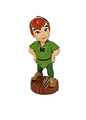 "Disney Toddler Baby Peterman Peter Pan 2"" Lose Mini Pvc Figure Figurine Cake Topper"