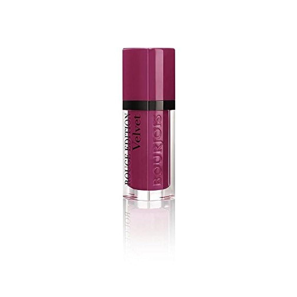 火星鮫行商人ルージュ版のベルベットの口紅、梅梅の女の子の8ミリリットル (Bourjois) (x 6) - Bourjois Rouge Edition Velvet Lipstick, Plum Plum Girl 8ml (Pack of 6) [並行輸入品]