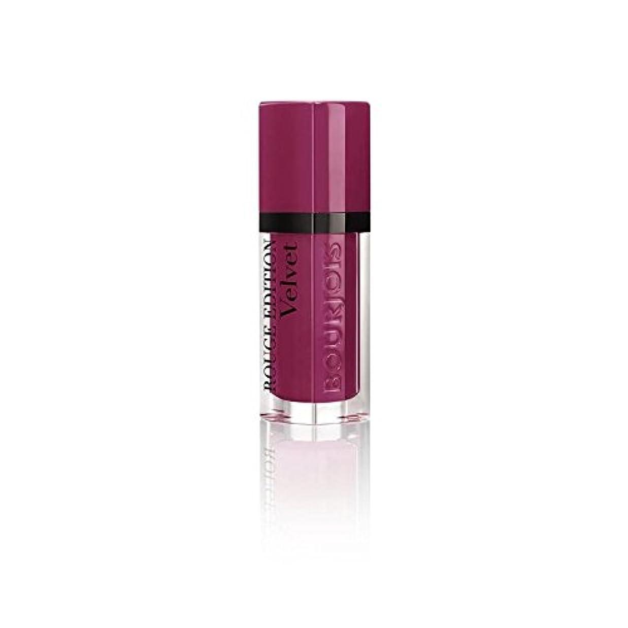 甘くするずらす衣装ルージュ版のベルベットの口紅、梅梅の女の子の8ミリリットル (Bourjois) (x 2) - Bourjois Rouge Edition Velvet Lipstick, Plum Plum Girl 8ml (Pack of 2) [並行輸入品]