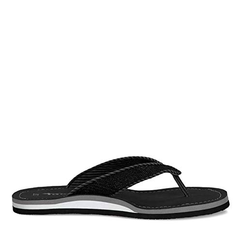 TAMARIS Damen 1-1-27132-34 047 Slipper, Black Glam, 40 M EU