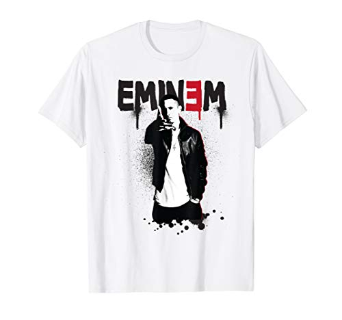 Eminem Official Sprayed Up T-Shirt