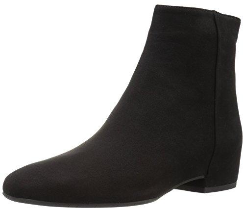 Aquatalia Women's ULYSSAA Suede Ankle Boot, Black, 8 M US