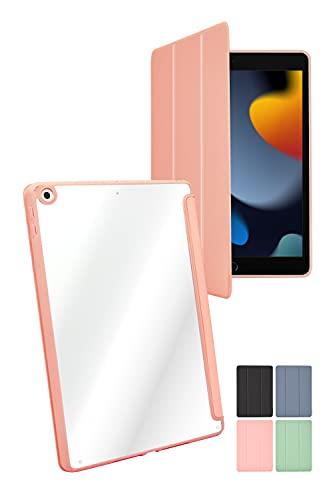 シズカウィル(shizukawill) iPad 6世代 5世代 iPad Air2 Air 9.7インチ 手帳型 ケース タブレット カバー ピンク ピンク色