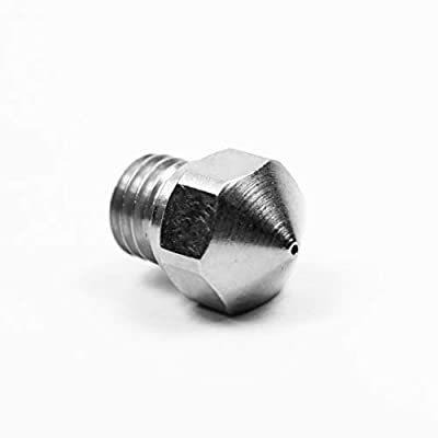 micro swiss M2557-08 Nozzle for MK10, All Metal Hot end, Upgrade Kit, 0.8 mm