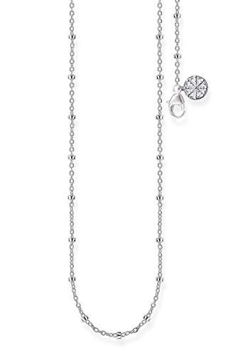 Thomas Sabo Mujer-Cadena para Beads Karma Beads Plata de ley 925 KK0003-001-21-L45v