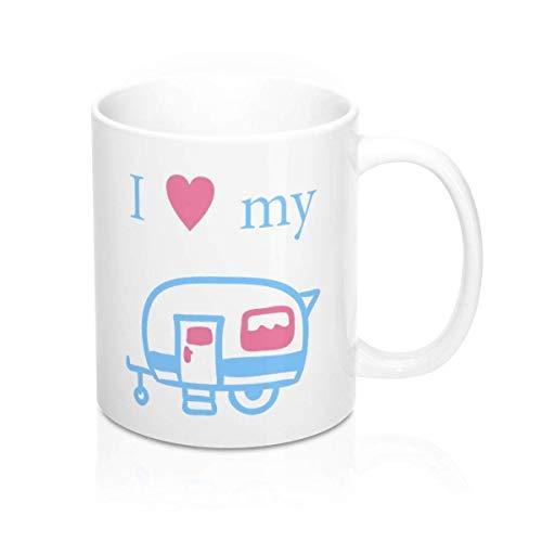 I Love My Caravan mug