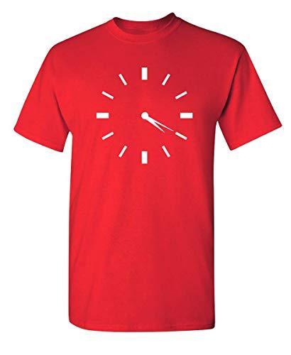 Jopath 420 Reloj Novedad Weed Graphic Sarcastic Funny T Shirt