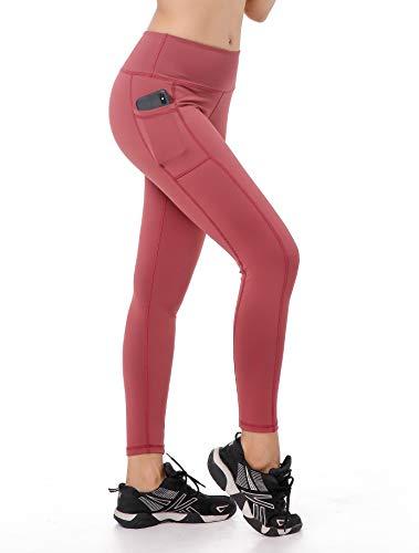 East Hong Damen-Leggings für Yoga, hohe Taille, mit Taschen, 180-32, m