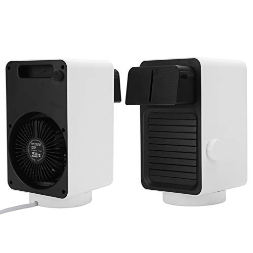 Ventilador Calentador, Interior Espacio Calentador Eléctrico 800w Abdominales 400ml por Casa Oficina Usar