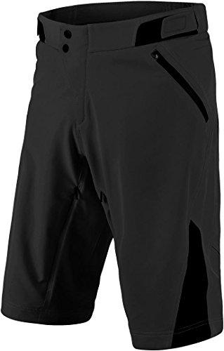 Troy Lee Designs Pantalon Court MTB 2018 Ruckus Solid Noir (36 Taille = UE 50, Noir)