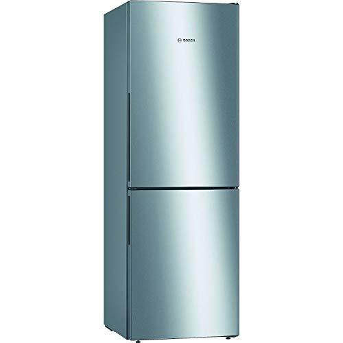 Bosch 287 Litre Freestanding Fridge Freezer - Stainless steel look