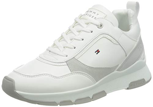 Tommy Hilfiger Damen Fiona 9c1 Sneakers, Weiß, 38 EU