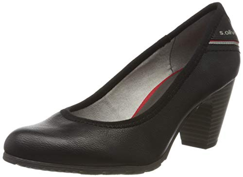 s.Oliver Damen 5-5-22404-24 Pumps, Schwarz (Black 001), 40 EU