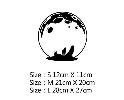 MDGCYDR Pegatinas Coche Tamaño M-21Cm Lindo Panda Divertido Pegatina Vinilo Calcomanía Impermeable Decoración Accesorios Coche Calcomanía