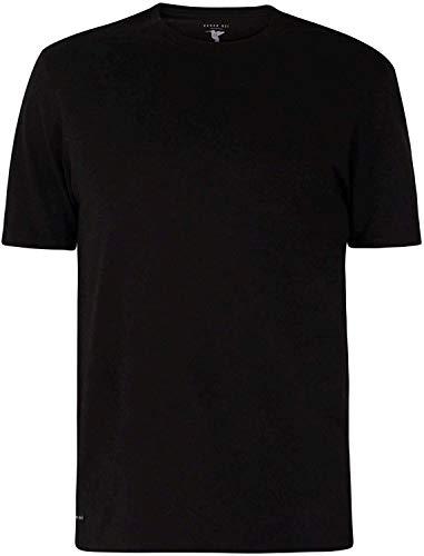 Ted Baker - Camisetas de algodón elástico para hombre, 3 unidades, playeras de algodón elástico de cuello redondo, 3 unidades, L, Multi color