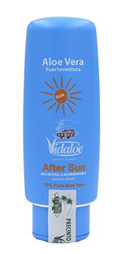 Vidaloe Aloe Vera After Sun (75% Puro Saft, mit Johanniskraut-Öl und Ringelblume 100ml