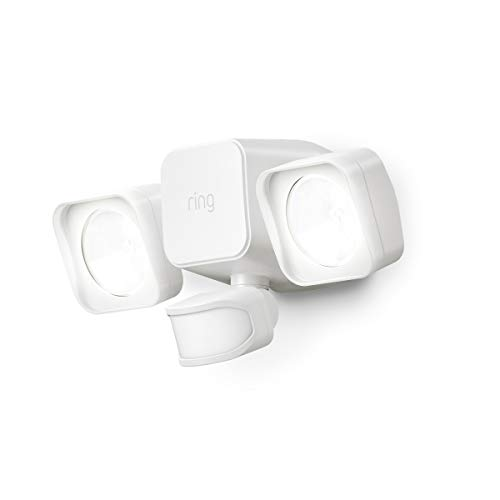 Ring Smart Lighting – Floodlight, Battery-Powered, Outdoor Motion-Sensor Security Light, White (Ring Bridge required)