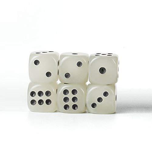 10 stücke Cube Leuchtwürfel, Glowing Tisch Spielen Spielzeug für Brettspiel Night Bar KTV Brettspiele Casino Thema und Party Favors