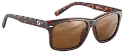 Dice Unisex Sonnenbrille, matt brown, one size, D06210-10