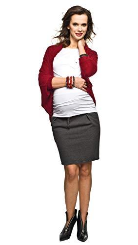 Torelle Maternity Wear Strickpulli, Bolero, Cardigan Modell: ETEL, Farbe: Bordeaux, Gr. XS/M