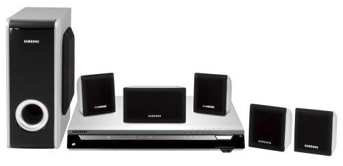 Samsung HT-P 10 Heimkino-System schwarz/Silber